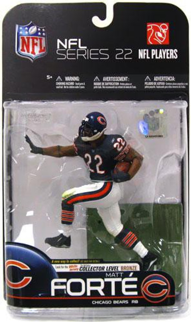 McFarlane Toys NFL Chicago Bears Sports Picks Series 22 Matt Forte Action Figure [Blue Jersey]