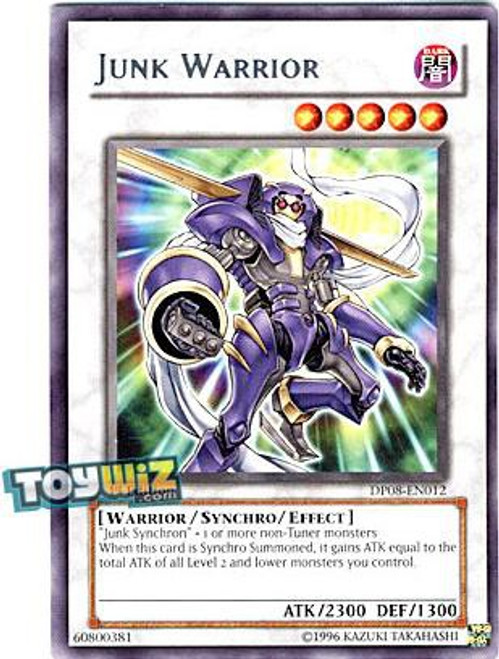 YuGiOh YuGiOh 5D's Duelist Pack Yusei Fudo Rare Junk Warrior DP08-EN012