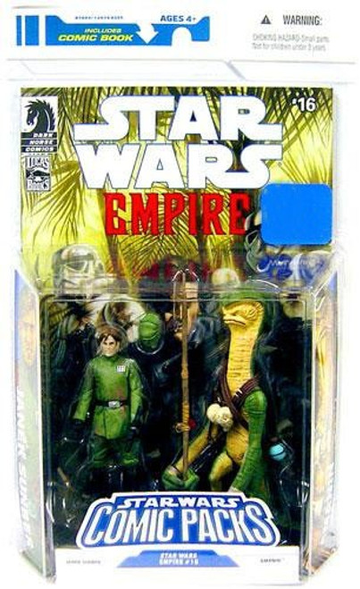 Star Wars Expanded Universe 2009 Comic Packs Janek Sunber & Amanin Exclusive Action Figure 2-Pack #16