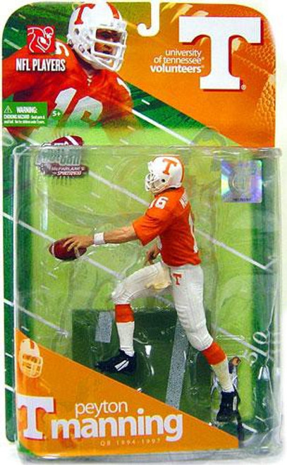McFarlane Toys NCAA College Football Sports Picks Series 1 Peyton Manning Action Figure