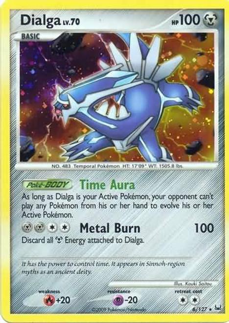 Pokemon Platinum Rare Holo Dialga #6