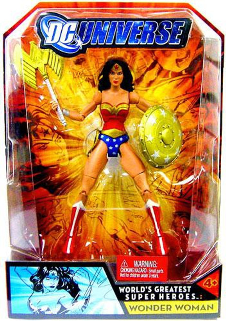 DC Universe World's Greatest Super Heroes Wonder Woman Action Figure
