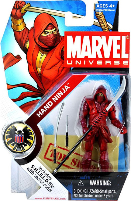 Marvel Universe Series 3 Hand Ninja Action Figure #24