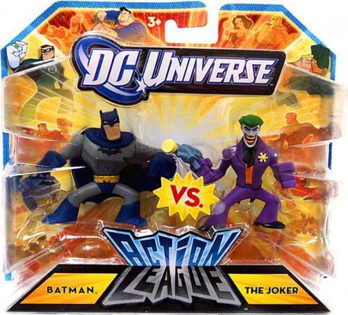 DC Universe Action League Batman Vs. The Joker 3-Inch Mini Figures