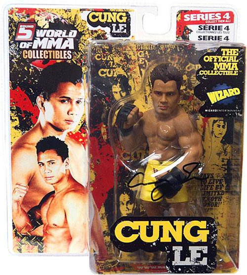 UFC World of MMA Champions Series 4 Cung Le Exclusive Action Figure [Autographed]