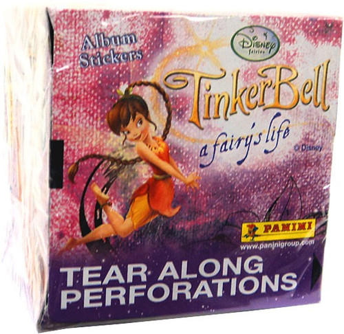 Disney Fairies Panini Tinker Bell A Fairy's Life Sticker Box