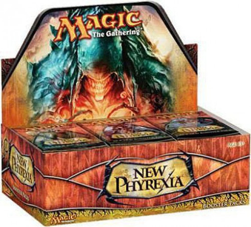 MtG Trading Card Game New Phyrexia Booster Box [36 Packs]