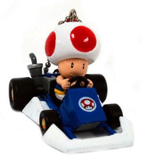 Super Mario Mario Kart DS Toad Micro Keychain [Go-Kart]