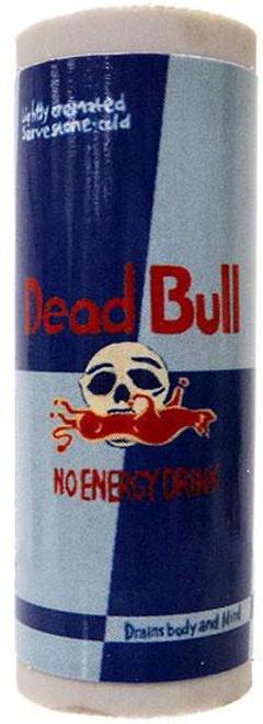 Wacky Packages Topps Dead Bull Single Eraser #5