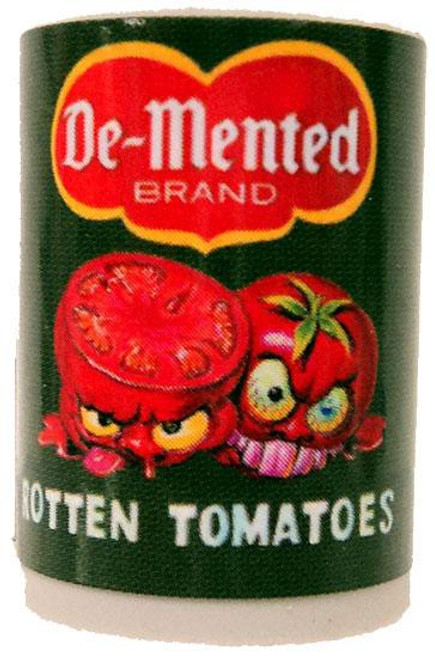 Wacky Packages Topps De-Mented Rotten Tomatoes Single Eraser #6