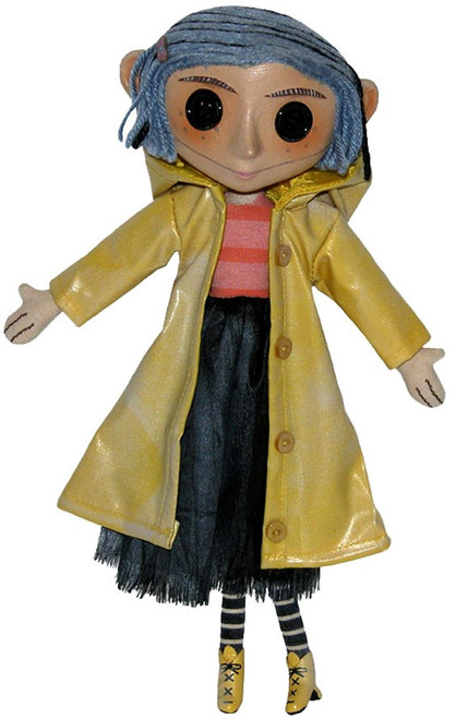 NECA Coraline 10-Inch Doll [Pink Package]