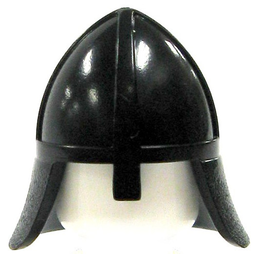 LEGO Castle Black Conical Helmet [Loose]