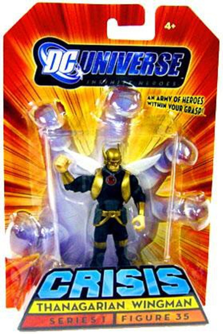 DC Universe Crisis Infinite Heroes Series 1 Thanagarian Wingman Action Figure #35