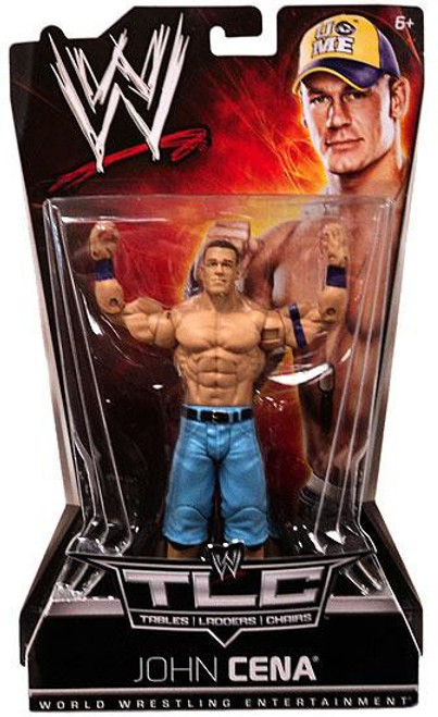 WWE Wrestling Pay Per View Series 8 TLC Tables, Ladders, Chairs John Cena Action Figure