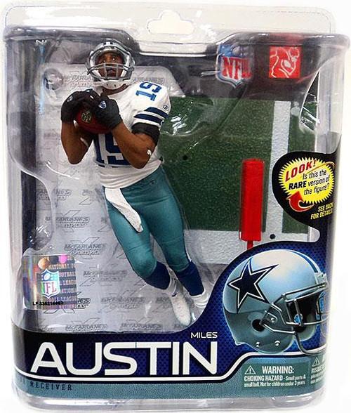 McFarlane Toys NFL Dallas Cowboys Sports Picks Series 27 Miles Austin Action Figure #19 [Jersey #19]