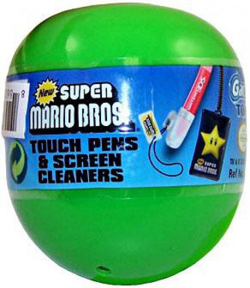 New Super Mario Bros Touch Pens & Screen Cleaners