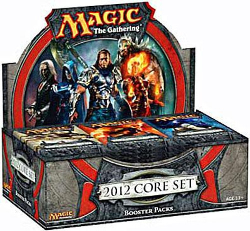 MtG Trading Card Game 2012 Core Set Booster Box [36 Packs]