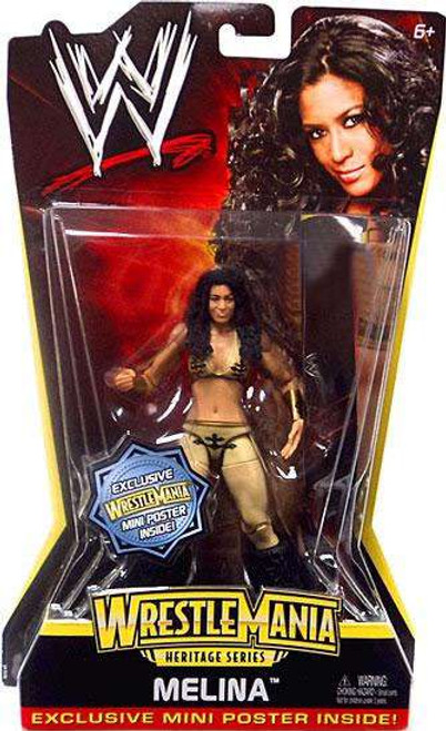 WWE Wrestling WrestleMania Heritage Series 2 Melina Exclusive Action Figure
