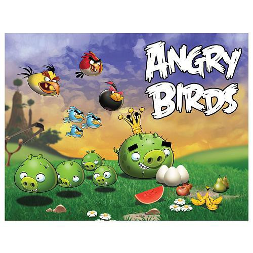 Angry Birds Pigs Going After Eggs Puzzle #2 [24 pieces]