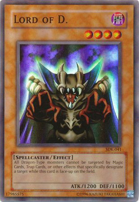 YuGiOh Starter Deck: Kaiba Super Rare Lord of D. SDK-041