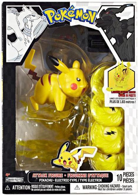 Pokemon Black & White Series 1 Attack Pikachu Figure