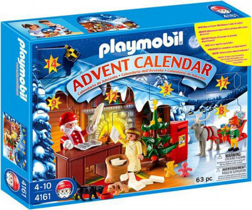 Playmobil Advent Calendar Christmas Post Office Set #4161