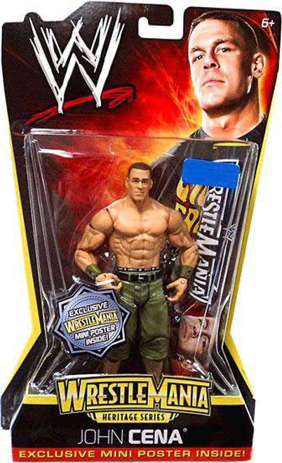 WWE Wrestling WrestleMania Heritage Series 2 John Cena Exclusive Action Figure