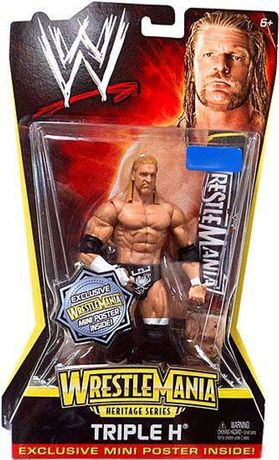 WWE Wrestling WrestleMania Heritage Series 2 Triple H Exclusive Action Figure