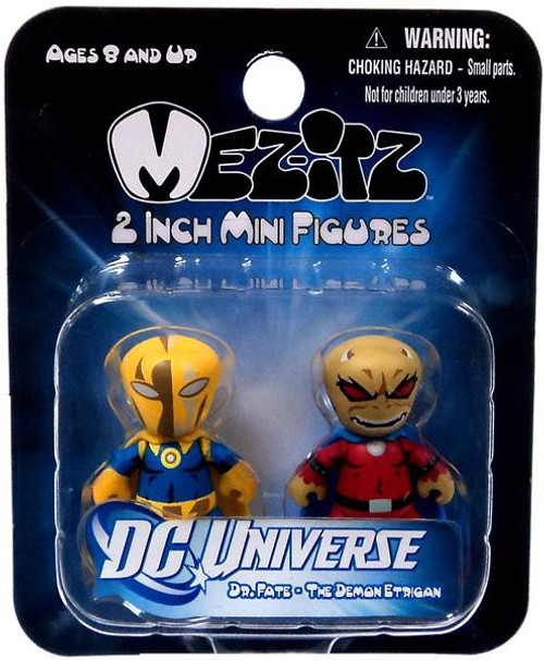 DC Mini Mez-Itz Series 2 Dr. Fate & Etrigan the Demon 2-Inch Vinyl Figure 2-Pack