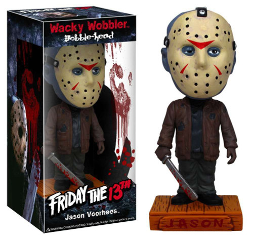 Funko Friday the 13th Wacky Wobbler Jason Voorhees Bobble Head