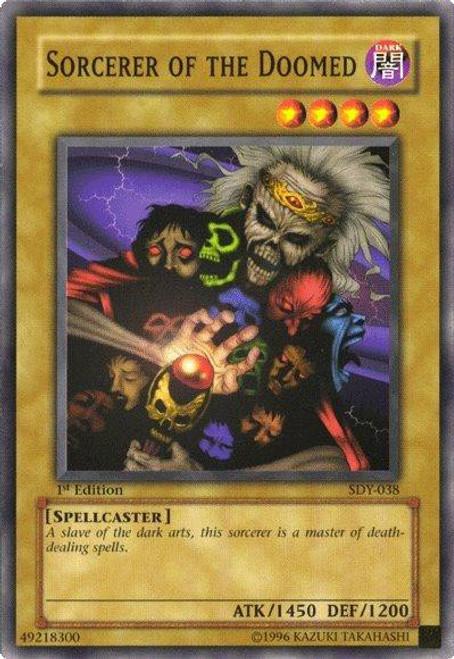 YuGiOh Starter Deck: Yugi Common Sorcerer of the Doomed SDY-038