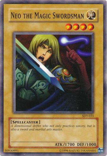 YuGiOh Starter Deck: Yugi Common Neo the Magic Swordsman SDY-035