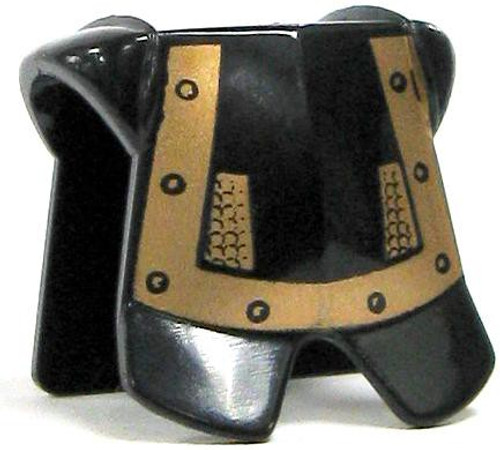 LEGO Castle Armor Black Copper Studs Breastplate [Loose]