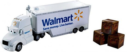 Disney / Pixar Cars Walmart Wally Hauler Exclusive Diecast Car
