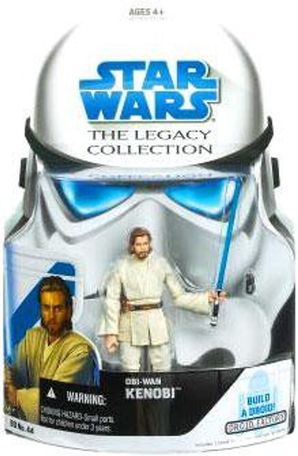 Star Wars Attack of the Clones 2008 Legacy Collection Droid Factory Obi-Wan Kenobi Action Figure [Episode II]