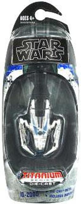 Star Wars Expanded Universe Titanium Series 2009 IG-2000 Diecast Vehicle