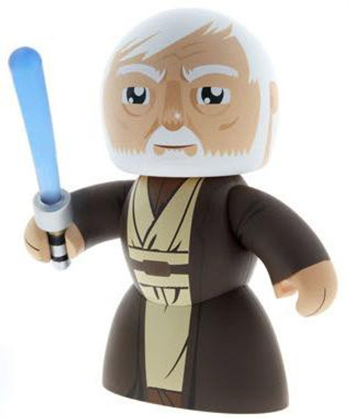 Star Wars A New Hope Mighty Muggs 2009 Wave 2 Obi-Wan Kenobi Vinyl Figure