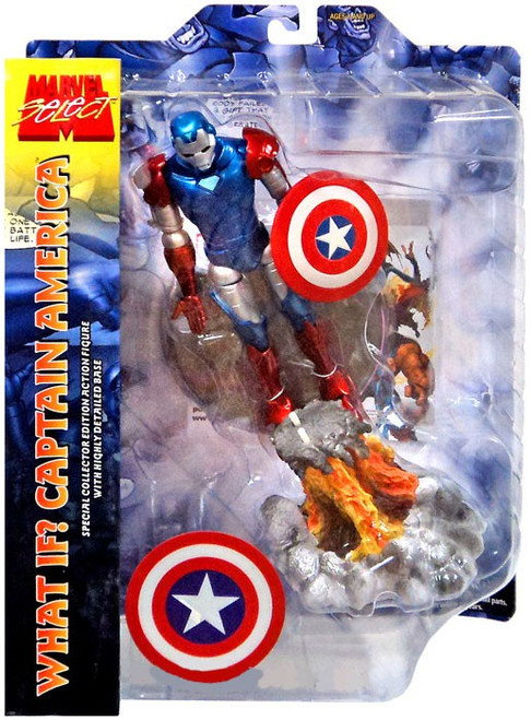 Marvel Select What If? Iron Captain America Exclusive Action Figure