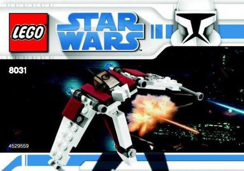 LEGO Star Wars The Clone Wars V-19 Torrent Mini Set #8031 [Bagged]