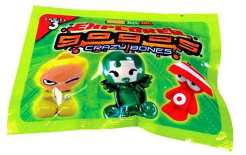 Crazy Bones Gogo's Series 3 Explorer Booster Pack [3 Figures]