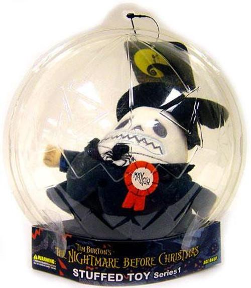 Nightmare Before Christmas Mayor Plush