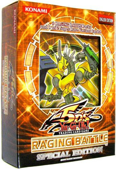 YuGiOh Trading Card Game Raging Battle Special Edition [3 Booster Packs & 1 RANDOM Promo Card]