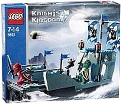 LEGO Knights Kingdom Knights' Attack Barge Set #8801