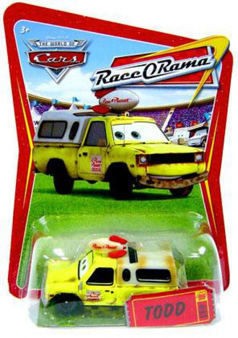 Disney / Pixar Cars The World of Cars Race-O-Rama Todd Pizza Planet Truck Diecast Car #93