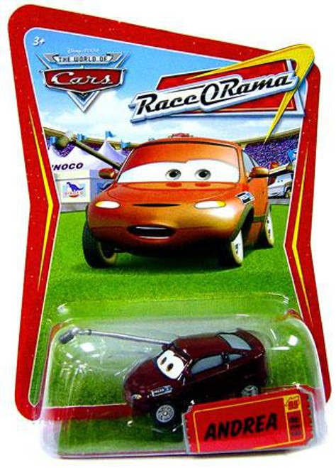 Disney / Pixar Cars The World of Cars Race-O-Rama Andrea Diecast Car #89