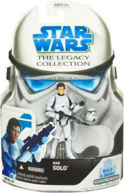 Star Wars A New Hope 2008 Legacy Collection Droid Factory Han Solo Action Figure BD31 [Stormtrooper]