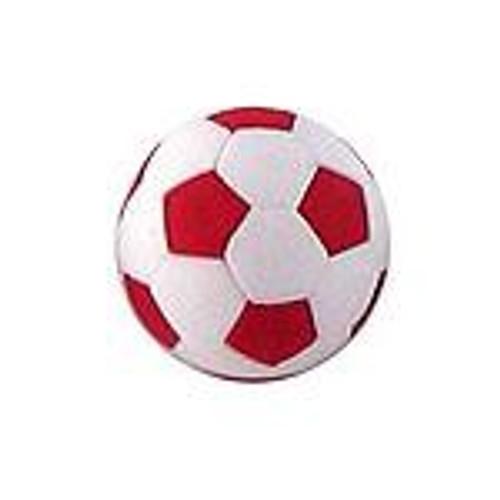 Iwako Red Soccer Ball Eraser