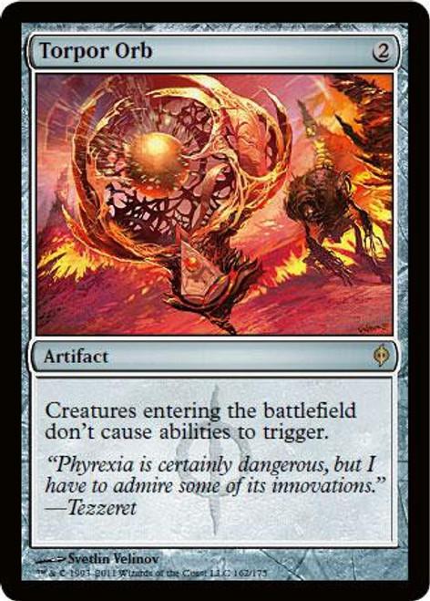 MtG New Phyrexia Rare Torpor Orb #162