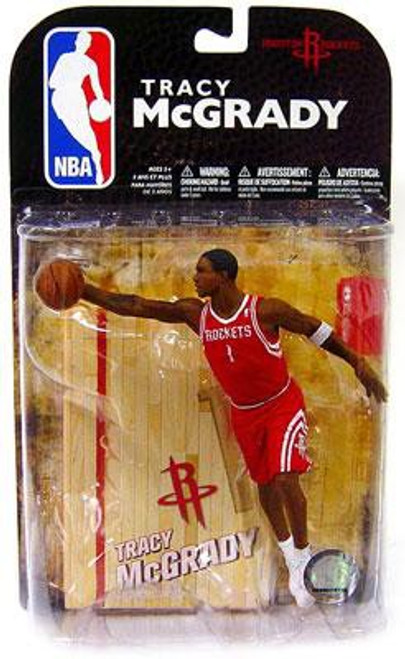 McFarlane Toys NBA Houston Rockets Sports Picks Series 16 Tracy McGrady Action Figure [Red Jersey Variant]