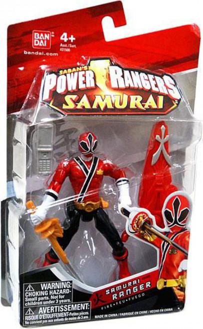 Power Rangers Samurai Ranger Fire Action Figure